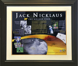 Jack Nicklaus - Championships Collage Framed Memorabilia