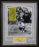 "Jack Nicklaus - ""Focus"" Framed Memorabilia"