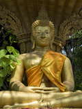 Buddha Statue, Wat Si Muang, Vientiane, Laos, Indochina, Southeast Asia, Asia Photographic Print by Richard Maschmeyer