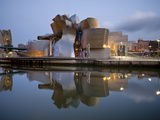 Guggenheim Museum, Bilbao, Euskal Herria, Euskadi, Spain, Europe Photographic Print by Ben Pipe