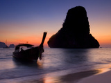 Happy Island, Hat Phra Nang Beach, Railay, Krabi Province, Thailand, Southeast Asia, Asia Photographic Print by Ben Pipe
