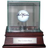 Jack Nicklaus - Autographed Callaway Tour IX Golf Ball w Case and Plate Framed Memorabilia