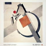 Proun (1920) Prints by El Lissitzky