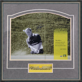 "Jack Nicklaus - ""Concentration"" Framed Memorabilia"