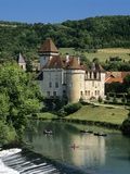 Chateau De Cleron, Cleron, Loue Valley, Franche Comte, France, Europe Photographic Print by Stuart Black