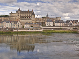 Chateau D'Amboise, UNESCO World Heritage Site, Amboise, Indre-Et-Loire, Loire Valley, France, Europ Photographic Print by Julian Elliott