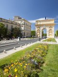 The Arc De Triomphe, Rue Foch, Montpellier, Languedoc-Roussilon, France, Europe Photographic Print by David Clapp