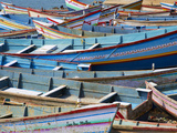 Vizhinjam, Fishing Harbour Near Kovalam, Kerala, India, Asia Photographic Print by  Tuul