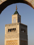 Great Mosque (Ezzitouna Mosque) Minaret, Tunis, Tunisia, North Africa, Africa Stampa fotografica di  Godong