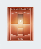Roland Garros, 1982 Limited Edition by Jean Michel Folon