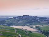 Looking across the Vineyards of Sancerre, Cher, Loire Valley, Centre, France, Europe Photographic Print by Julian Elliott