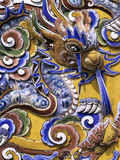 Detail from Chinese Gateway Inside the Imperial City, the Citadel, Hue, UNESCO World Heritage Site, Photographic Print by Stuart Black