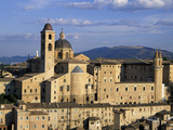 Buildings at Piazza Duca Federico, Le Marche, Italy Photographic Print by Russell Young