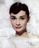 Audrey Hepburn - White Prints