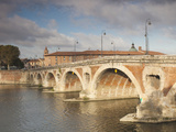 Pont Neuf Bridge, Toulouse, Haute-Garonne Department, Midi-Pyrenees Region, France Photographic Print by Walter Bibikow