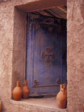 Berber Village Doorway, Morocco Fotografie-Druck von Darrell Gulin