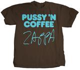 Frank Zappa - Pussy 'N Coffee T-shirts