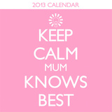 Keep Calm - 2013 Mini Calendar Calendarios