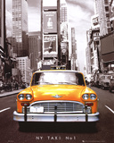 Times Square - NY Taxi No 1 Affiche