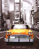 Times Square - NY Taxi No 1 Plakat