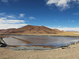 Lithium Mine at Salt Lake, Salar Del Hombre Muerto, Province Catamarca, Argentina Photographic Print by Jutta Riegel