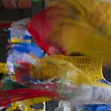Praying Flags, Paro, Bhutan Photographic Print by Keren Su