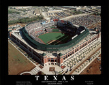 Texas Rangers - First Opening Day Game, April 11, 1994 Poster by Mike Smith