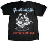 Onslaught - Power From Hell T-shirts