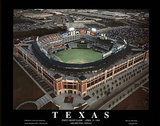 Texas Rangers - First Opening Night Game, April 13, 1994 Poster by Mike Smith