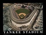 New York Yankees - Old Yankee Stadium Print by Mike Smith