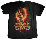 Balance and Composure - Indian Maiden T-shirts