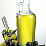 Salad Oil with Green and Black Olives Photographic Print by  Prisma