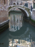 Canal and Reflection, Venice, Italy Photographic Print by Rob Tilley