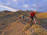 Mountain Bikers on the Zippy Doo Dah Trail in Fruita, Colorado, Usa Photographic Print by Chuck Haney