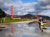 Golden Gate Bridge, Fort Point, National Recreation Area, San Francisco, California, Usa Photographic Print by Walter Bibikow