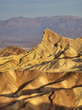 Amargosa Range at Zabriskie Point, Death Valley National Park, California, Usa Photographic Print by Jamie & Judy Wild