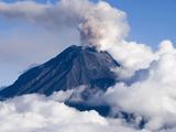 Active Volcano Tungurahua, Ecuador Photographic Print by Jutta Riegel