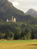 Neuschwanstein Castle, Built by King Ludwig, Fussen, Germany Photographic Print by Adam Jones