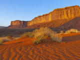 Mitchell Mesa at Sunrise in Monument Valley Navajo Tribal Park, Arizona and Utah State Line, Usa Photographic Print by Chuck Haney