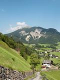 Santa Maddalena, Funes Valley (Villnoss), Dolomites, Trentino Alto Adige, South Tyrol, Italy Photographic Print by Sergio Pitamitz