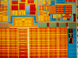Detail of Integrated Circuit, Intel Museum, Santa Clara, California, Usa Photographic Print by Walter Bibikow