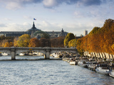 Grand Palais and Seine River, Paris, France Photographic Print by Walter Bibikow