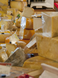 Variety of Cheese, Ferry Plaza Farmers Market, San Francisco, California, Usa Photographic Print by Alan Klehr