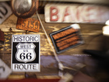 Route 66 Sign, Tucumcari, New Mexico, Usa Photographic Print by Julian McRoberts