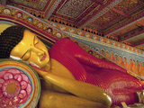 Anuradhapura, UNESCO World Heritage Site, Reclining Buddha Statue, Sri Lanka Photographic Print by Ellen Clark