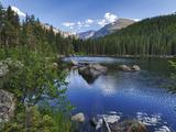 Hdr, Digital Composite, Bear Lake, Rocky Mountain National Park, Colorado, Usa Photographie par Rick A. Brown