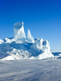 Iceberg in Antarctica Photographic Print by Keren Su