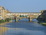 Ponte Vecchio and the Arno River at Sunrise, Florence, Tuscany, Italy Photographic Print by Rob Tilley