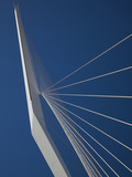 Jerusalem Chords Bridge, Jerusalem, Israel Photographic Print by Walter Bibikow