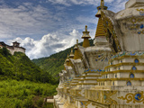 Stupas Can Be Found All over the Countryside, Bhutan Photographic Print by Tom Norring
